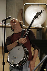 banjo player laughs