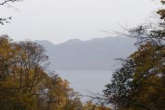 支笏湖を振り返る