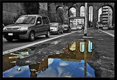 Riflettendo sulla Tangenziale Est... (Stefano Pizzetti) Tags: city urban blackandwhite bw italy rome roma cars reflections italia cityscape traffic best bn pollution utata a1 noise shiningstar biancoenero italians tangenziale peopleschoice bestshots allyouneedislove romacaputmundi blackandwhiteandcolor romarome amazingtalent 10faves theworldthroughmyeyes romanideroma expressionistphotography desaturadoselectivo gfb platinumphoto brigaterozze aplusphoto agradephoto amazingshots diamondclassphotographer flickrdiamond globalvillage2 lunarvillage imagoromae heartawards exploreunexplored platinumphotography yourvisions bwartaward blackwhiteartawards italianflickrworld nikonclubitalia stunningphotos desafiourbano bestofstefanopizzetti ilmegliodistefanopizzetti walkbyshootings gruppo2007 romedirectory altraroma highcreativity narcisismoalcubo stefanopizzetti