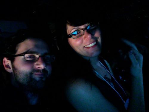 Me + Micki at BarcampLA