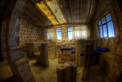 Salt hotel (wili_hybrid) Tags: trip travel autumn vacation holiday fall geotagged hotel photo yahoo high nikon october flickr dynamic photos salt picture bolivia pic fisheye journey wikipedia imaging d200 mapping range geotag salar tone hdr hotelroom hdri 2007 photomatix nikond200 tonemapped tonemapping highdynamicrangeimaging year2007