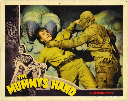 mummy's hand