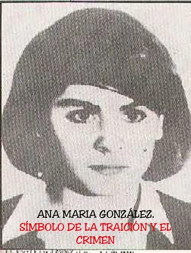 fotos de ana patricia gonzalez. Ana María Gonzalez: Símbolo de la Traición y el Crimen Ana María Gonzalez: Símbolo de la Traición y el Crimen