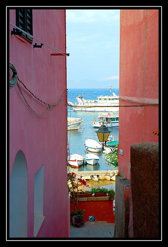 """Isola del giglio - """"La strada per il mare"""""""