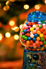 a gumball for everyone (raspberrytart) Tags: christmas holiday d50 lights interestingness nikon candy bokeh decoration explore gumball gumballmachine festivaloftrees interestingness163 seenonexplore