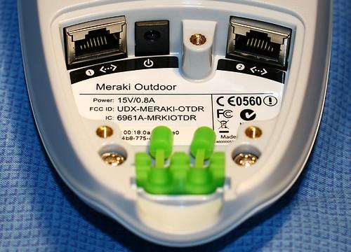 Connections panel of Meraki Outdoor