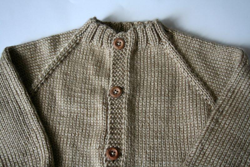 Top Down Seamless Raglan Sweater Pattern For Babies Lera Sweater