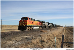 BNSF 4428, CSX 681 & NS 9589 (Robert W. Thomson) Tags: railroad train montana diesel ns railway trains locomotive trainengine ge vaughn bnsf csx norfolksouthern dash944cw burlingtonnorthernsantafe dash9 c409w c449w d940cw ac6000cw dash940cw cw60ac ac6000 sixaxle