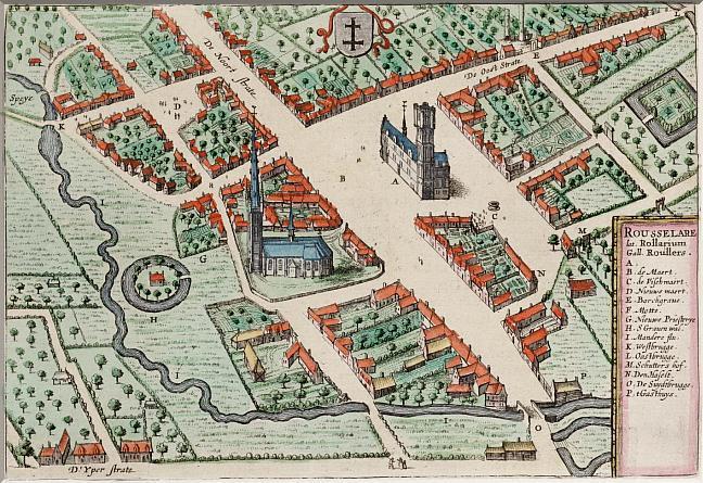 Roeselare 1649, tadscentrum
