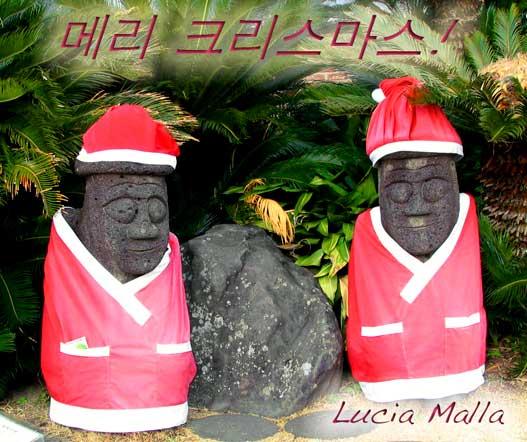 Feliz Natal de Jeju
