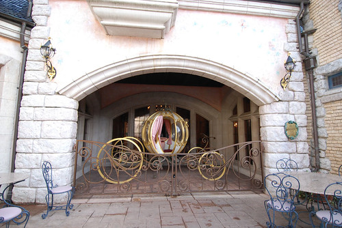 Carriage at le Cendrillon Restaurant