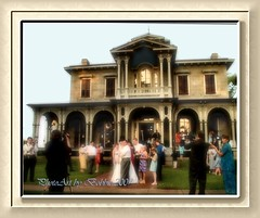 The Wedding Party (Rebel XT Shots / Bobbie) Tags: wedding groom bride photographers frame photoart historichouse mywinners liveasiseeit