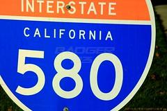 2007-12-03 81 Road Sign (Badger 23 / jezevec) Tags: sanfrancisco california road dublin public sign cali oakland highway kii roadsign interstate sein signe 2007 kalifornien zeichen 580  signo califrnia  znak jezevec   interstate580  lacalifornie tegn   merkki californi  december2007  california2007  20071203      mrk