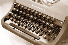 Underwood (n0vk) Tags: keys 50mm antique letters af f18 typewritter underwood wideopen af50mmf18d mywinners anawesomeshot