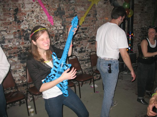 Jenny rocking out - Cornstalker