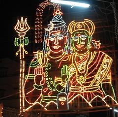 Shiv-Parvathi (Sujay`  ) Tags: night god shots bangalore cannon gods shiva sujay malayalikkottam shivparvathi