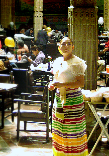 Mexican Waitress