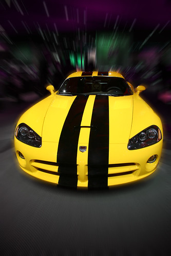 Car picture photoshoped