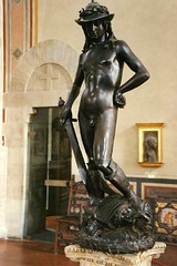 Florence - David by Donatello (WVJazzman) Tags: italy david florence bargello donatello italianrenaissance donatellodavid