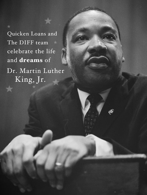 Happy Martin Luther King Jr. Day from the Quicken Loans Blog