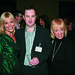 Emma Louise and Mary Johnston with Richard Sherry
