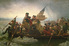 NYC - Metropolitan Museum of Art: Washington Crossing the Delaware