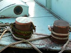 Turquoise et Cordage (shamalowbleu) Tags: paris seine pniche cordage