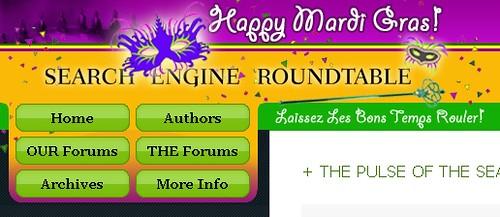 Mardi Gras SERoundtable.com Theme