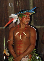 Desana Indian (Mondmann) Tags: brazil brasil river amazon colombia village native indian indigenous amazonas ecotourism desana tukano goldstaraward braziliandaybyday