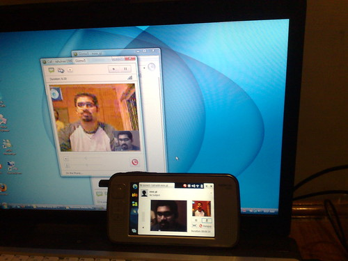 Successful N800 video call by rnair, on Flickr