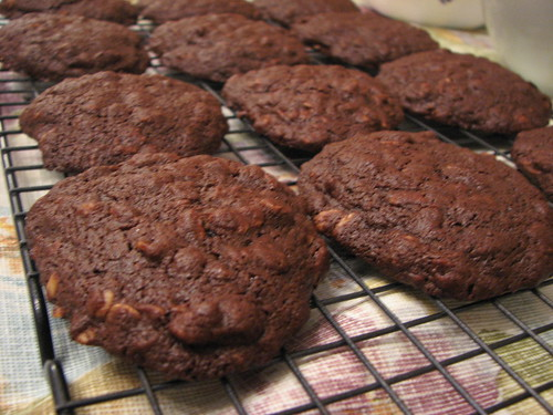 Chocolate Oatmeal Drop Cookies