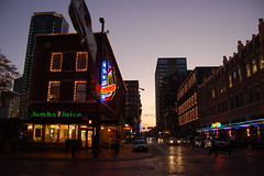DSC_8068 (notdavidbrooks) Tags: november autumn sunset fall d50 square nikon downtown texas fort district tx sundance worth cultural nightfall 2007