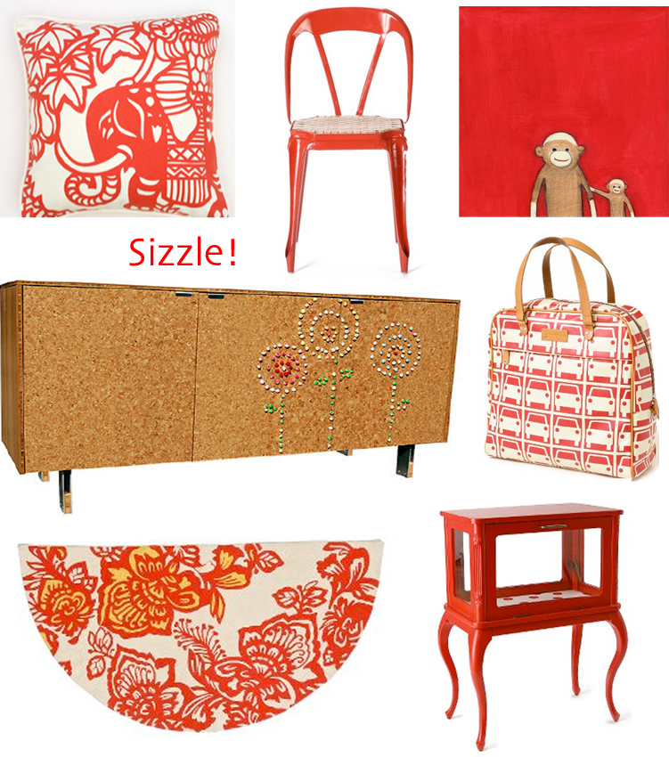 Color Me Monday Red Decor8