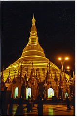 Tower of gold and light, Shwe Dagon temple, Rangoon, Burma / Myanmar (Boonlong1) Tags: world travel architecture asian gold golden asia yangon burma religion buddhism holy exotic sacred myanmar burmese goldentemple rangoon trekker 5photosaday goldenpagoda earthnight astoundingimages earthasia worldtrekker ilovemypics shweedagon