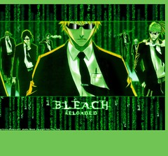 Bleach Matrix: Reloaded (lunareclipse_BLUEphoenix) Tags: fiction anime matrix japanese captains cool random reaper cartoon manga bleach evil vice cover captain soul page strong society hollow coolness assistant reloaded ichigo ganju kenpachi renji uryu zaraki toushiro toushirou zanpakutoh sereitei