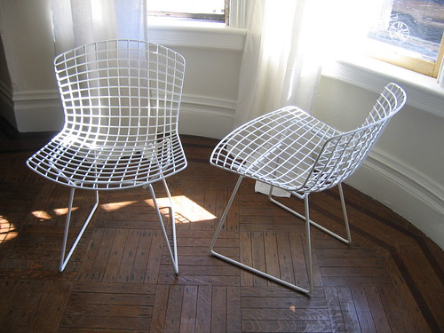 Beau Yesterday We Brought Home A Pair Of Bertoia Side Chairs To Use In The Back  Garden. They Werenu0027t A True Scavenged Find As They Are New, But Iu0027m  Counting Them ...