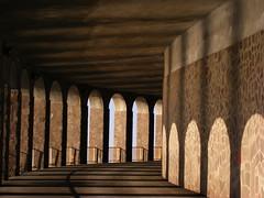 tunnel and its arches (Johnny Amish) Tags: sun fuji shadows group tunnel arches ombre fujifilm sole scilla calabria reggio archi s5800