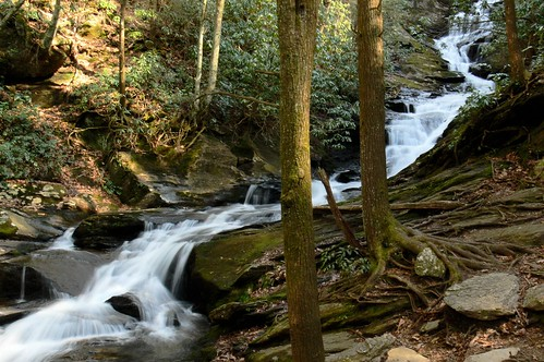 Roaring Fork Falls - Wide Angle