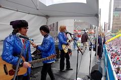 Neurotics onstage at Flickr.com
