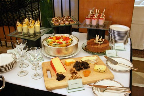 cheese and desserts