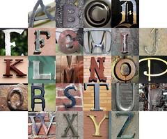Metal letters II