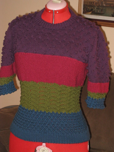 bobble sweater finished april 24 2008 001