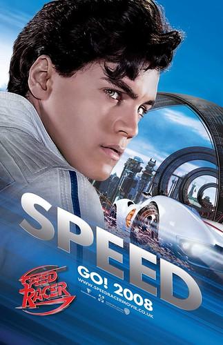 Poster Speed Racer Wachowski Emile Hirsch