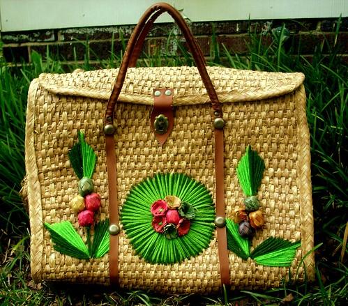 Straw Beach Bag / Purse