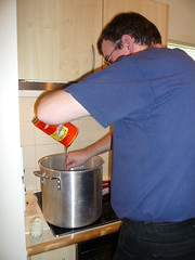 Adding malt extract