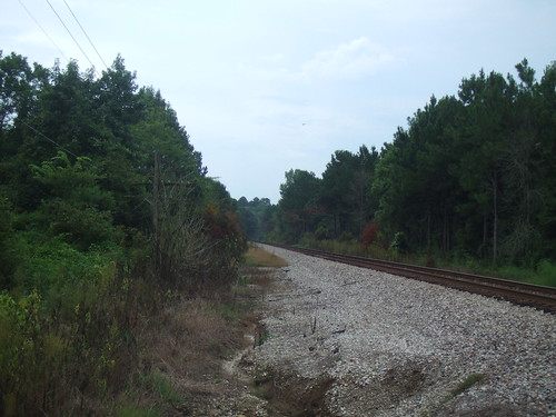 Railroad Tracks in Tupelo, MS
