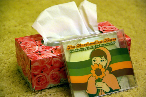 The Marshmallow Kisses - I wonder why my favourite boy leaves me an EP