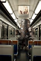 Bertie on the underground (nael.) Tags: underground subway toy tube photoediting photomontage bertie wwr dirtydeeds ashleywood photoretouching nael retouchephoto