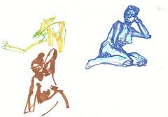 Life Drawing (StillDrawing) Tags: lifedrawing drawing illustration copics letraset pen