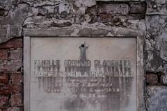 Famille Edouard Planchard (Jeremy Caney (previously Tyrven)) Tags: louisiana graves 1853 cemetaries neworleans familleedourardplanchard brick vaults tombs louisaangelaplanchard